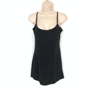 Le Chateau Womens Black Tank Top Medium